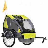 Adventure AT3 Alloy 2 Seater Bicycle Trailer