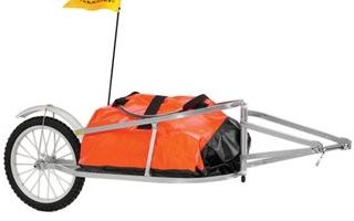 1輪 サイクルトレーラー