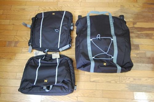 バリー Travoy アーバントレーラー オプションのバッグ