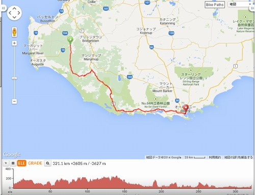 DAY2:Nannup to Albany 321km