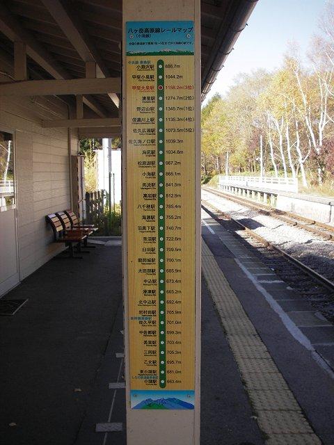 甲斐大泉駅