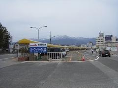 両津港発、新潟行きの佐渡汽船に乗る