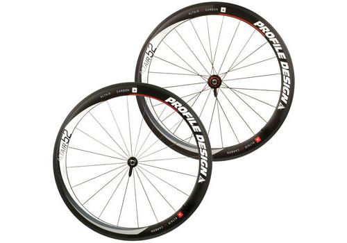 Profile Altair 52 Full Carbon Clincher Wheelset