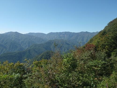 松姫峠からの眺望