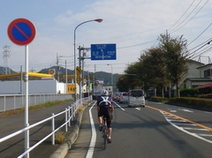 BRM1027ヤビツ200:ヤビツ峠-牧馬峠-PC2(113.1km)