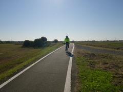 荒川自転車道を70kmほど
