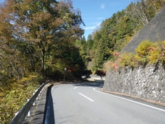 秋の十国峠:国道299号線は通行止め