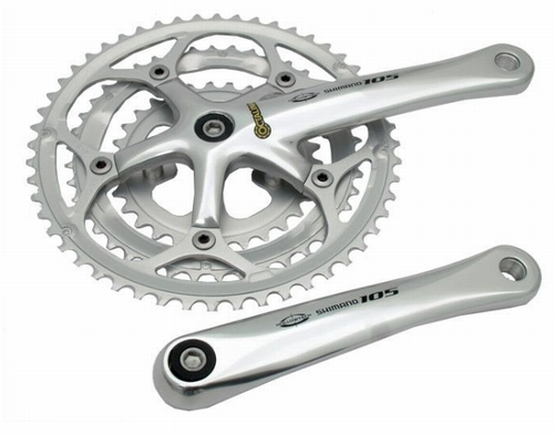 Shimano 105 5505 Octalink Triple 9sp Chainset