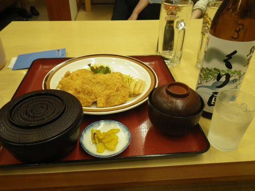 魚フライ定食