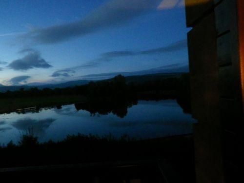 MOFFATホテルからの眺め