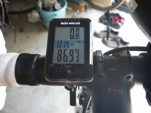 デローザR848走行距離