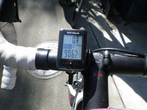2013年10月 デローザ走行距離
