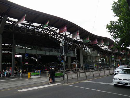メルボルン サザンクロス駅