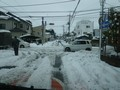 2週連続雪の影響