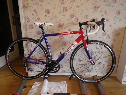 自転車の ステム 自転車 交換 : サドルとステム取り付け前の ...