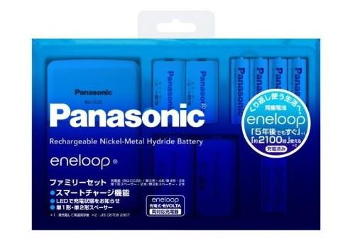 Panasonic eneloop 急速充電器ファミリーセット スタンダードモデル K-KJ22MCC42S