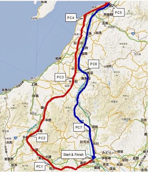 BRM628群馬600kmのんびり新潟