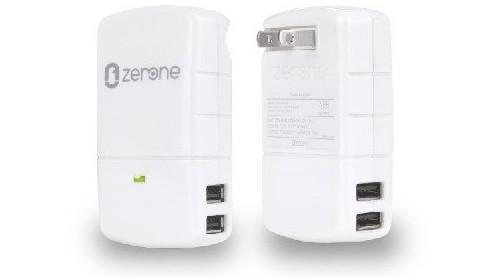 USB充電器 (単ポート 2.1A 4ポート合計4.2A )