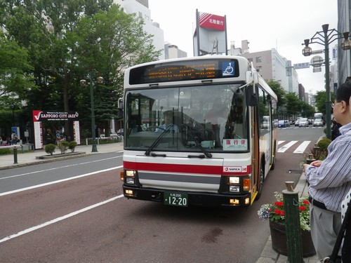 札幌循環88番バス