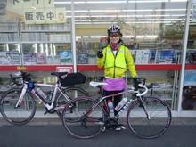 BRM321 鴨川200km:10時間45分(嫁さん)