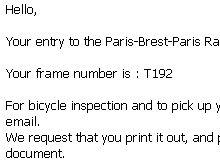 PBPから登録処理完了・フレームナンバーなどのお知らせ