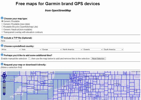 自転車の 自転車 地図 gps : Free maps for Garmin brand GPS devices ...